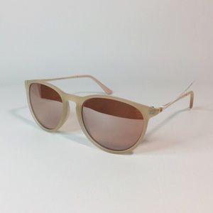 Accessories - Rose gold round lens sunglasses